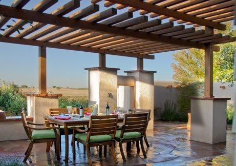 Patio Cover Design Southwestern Landscaping Arcadia Design Group Centennial, CO
