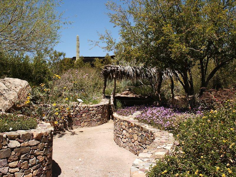 Rock Retaining Walls, Desert Garden Southwestern Landscaping Landscaping Network Calimesa, CA