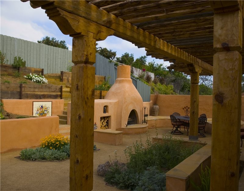 Southwestern landscaping carlsbad ca photo gallery for Southwestern fireplaces