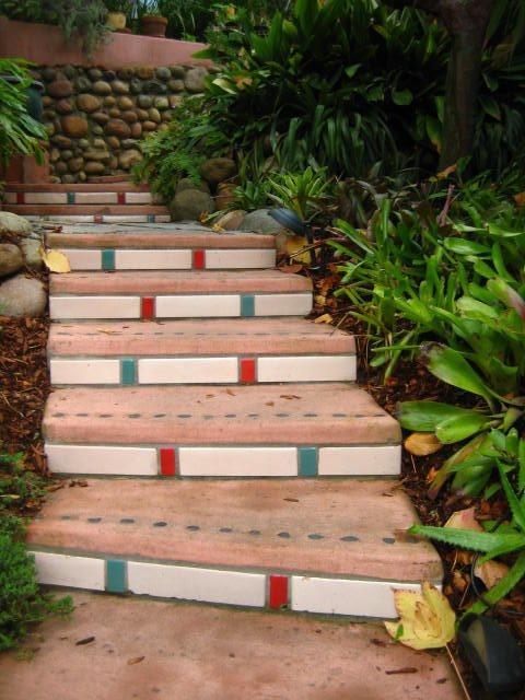 Walkway, Steps Southwestern Landscaping Landscaping Network Calimesa, CA