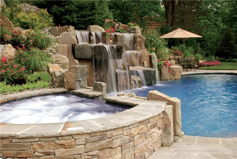 Spas mahwah nj photo gallery landscaping network for Landscaping rocks new orleans