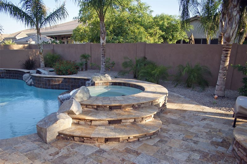 Raised Spa Spas Alexon Design Group Gilbert, AZ