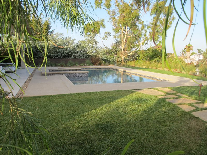 Swimming Pool Falling Waters Landscape, Inc San Diego, CA