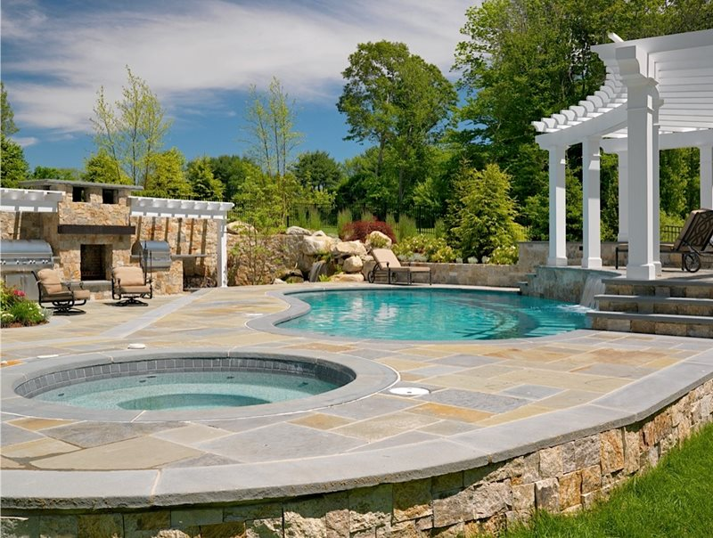 Swimming pool mattapoisett ma photo gallery for Pool landscape design
