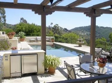 Pool Deck Swimming Pool ALIDA ALDRICH LANDSCAPE DESIGN Santa Barbara, CA