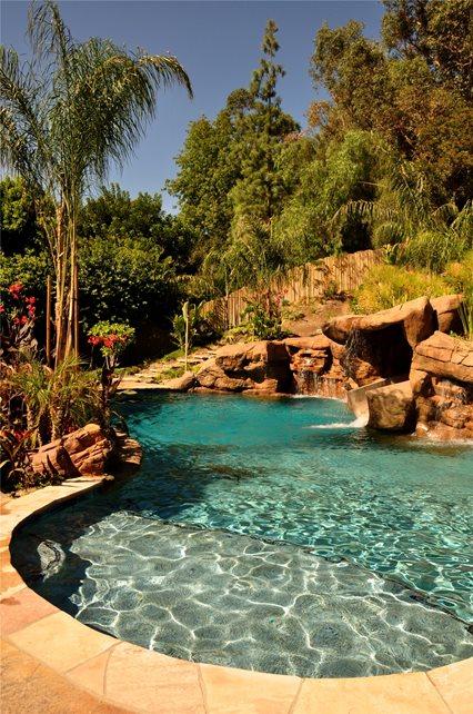 Pool Deck Swimming Pool The Green Scene Chatsworth, CA