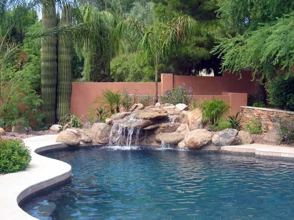 Swimming Pool Phoenix Az Photo Gallery Landscaping Network