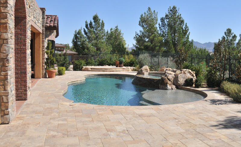 swimming pool las vegas nv photo gallery landscaping network