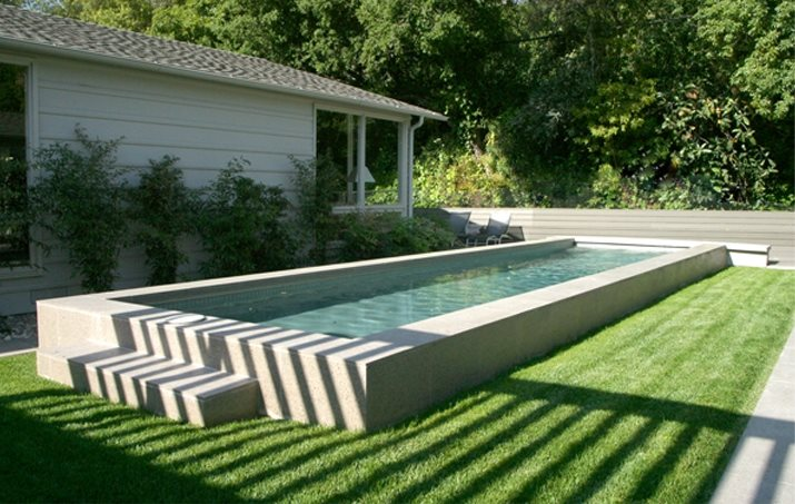 Elevated Pool swimming pool - venice, ca - photo gallery - landscaping network