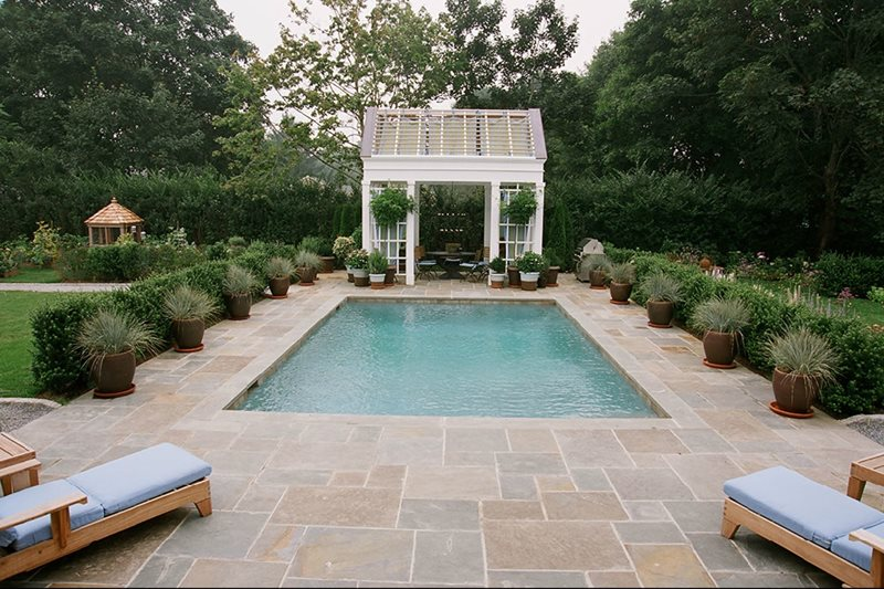Small Pool Swimming Pool Barry Block Landscape Design & Contracting East Moriches, NY