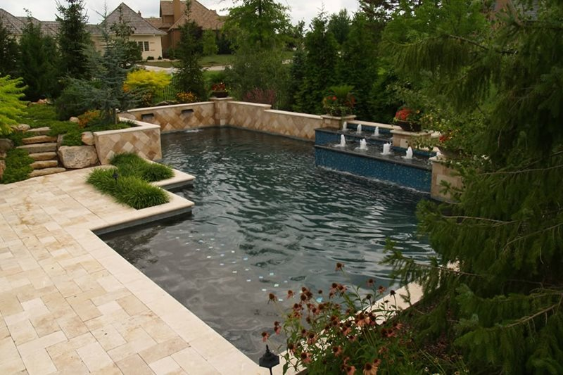 Swimming Pool Overland Park Ks Photo Gallery Landscaping Network