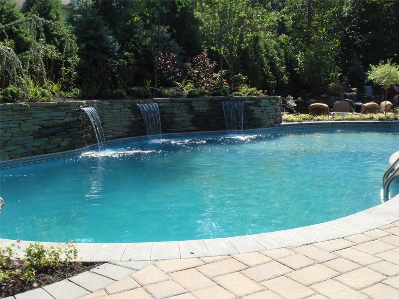 Swimming Pool Waterfalls Swimming Pool Jodie Cook Landscape Design San Clemente, CA