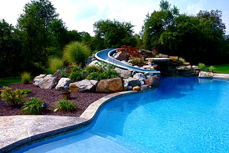 Swimming pool poughkeepsie ny photo gallery for Pool landscaping pictures