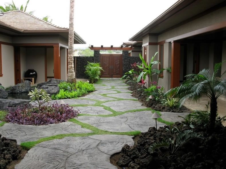Tropical landscaping kehei hi photo gallery for Local landscape designers