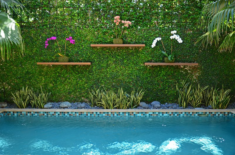Tropical landscaping miami fl photo gallery for Zen pool design