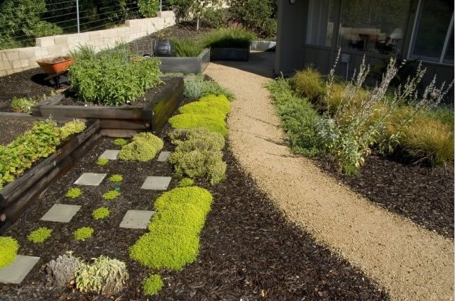 Garden Path, Gravel Path Walkway and Path Jeffrey Gordon Smith Landscape Architecture Los Osos, CA