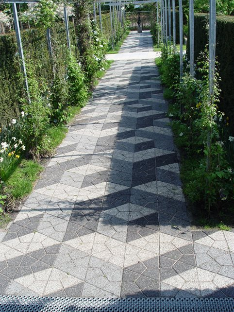 Paver Path, 3d Pavers, Paver Pattern, Modern Pavers Walkway and Path Maureen Gilmer Morongo Valley, CA