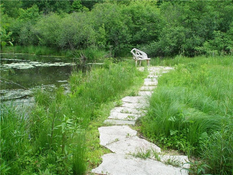 Pond Path, Stone Path Walkway and Path EnergyScapes, Inc. Minneapolis, MN