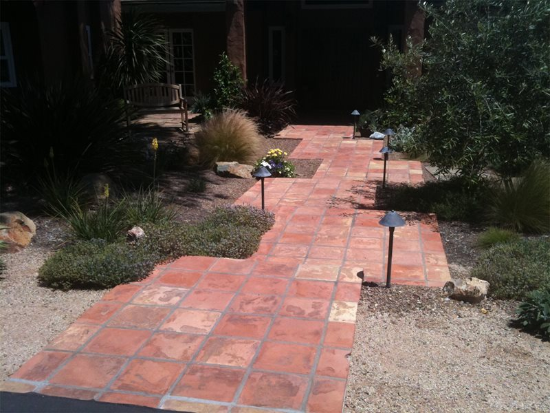 Walkway, Brick Walkway and Path Landscaping Network Calimesa, CA
