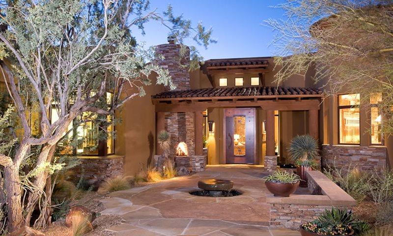 Front Entry Xeriscaping Xeriscape Landscaping Boxhill Landscape Design Tucson, AZ