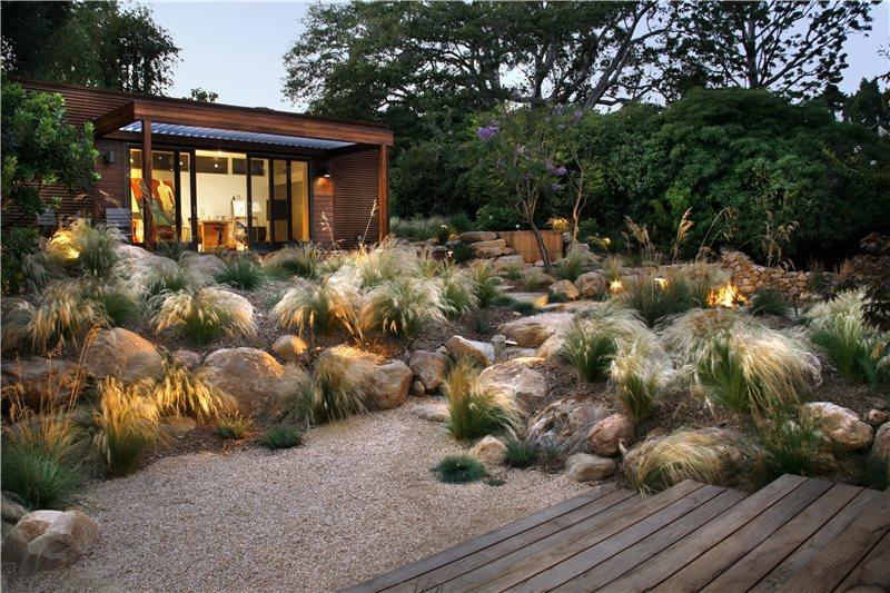 Xeriscape Landscaping Grace Design Associates Santa Barbara, CA