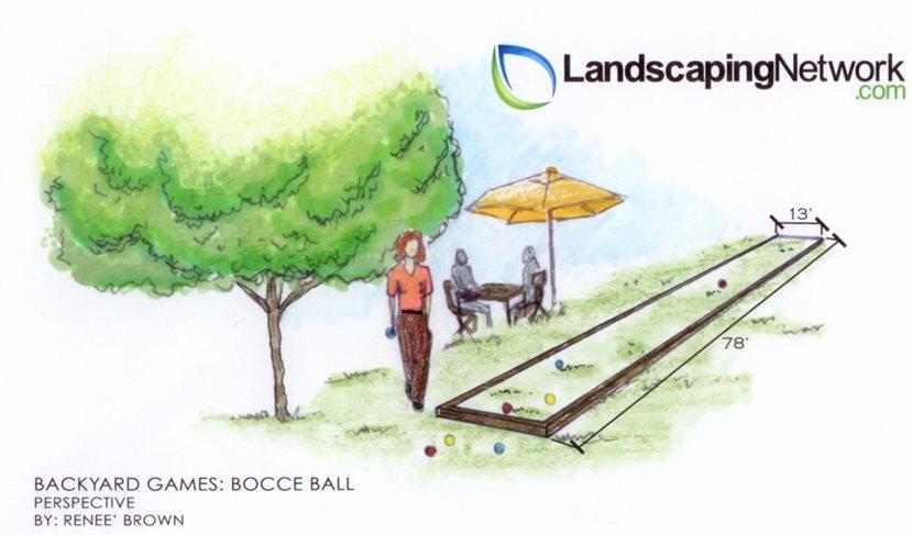 Bocce Ball - Backyard Games - Landscaping Network