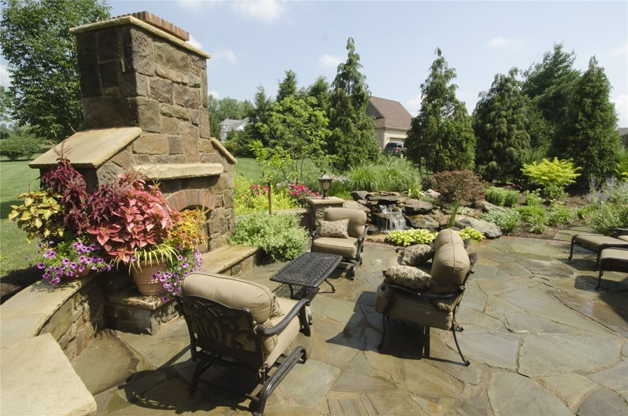 Tuscan landscape design landscaping network backyard landscaping rices nursery landscaping north canton workwithnaturefo
