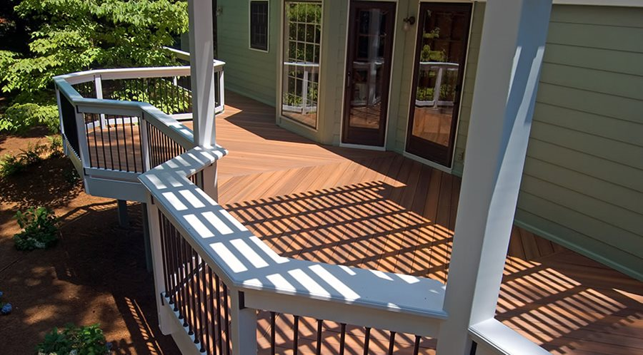 Backyard Deck Deck Design Peach Tree Decks U0026 Porches Atlanta, ...