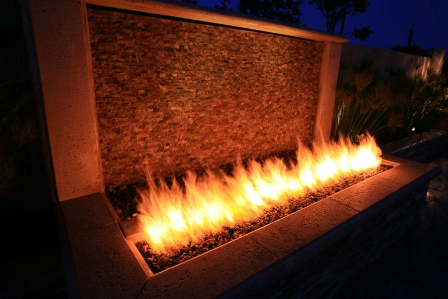 Fire And Water Wall