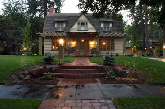 Landscaping Lighting Ideas For Front Yard : Front Yard LightsFront Yard LandscapingCopper Creek Landscaping, Inc