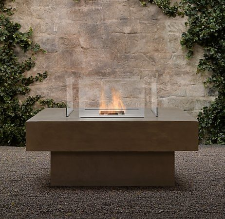 Outdoor Kitchen Restoration Hardware , - Ethanol Fire Pits - Landscaping Network