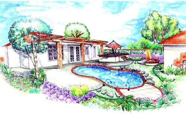 Swimming Pool Location Landscaping Network