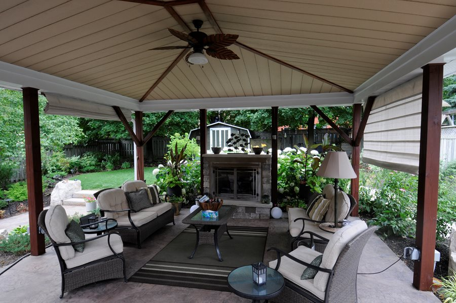 Landscaping Ideas Toronto - Landscaping Network on Small Outdoor Covered Patio Ideas id=34305