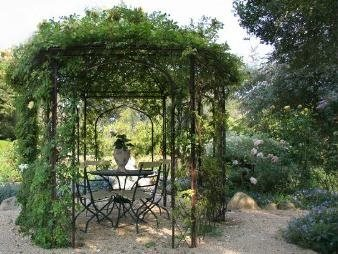 Iron, Arbor, Garden, Victorian Side Yards Donna Lynn Landscape Design Santa  Barbara, Nice Ideas