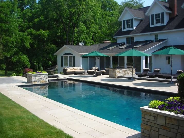 Swimming Pool Before And After - Landscaping Network