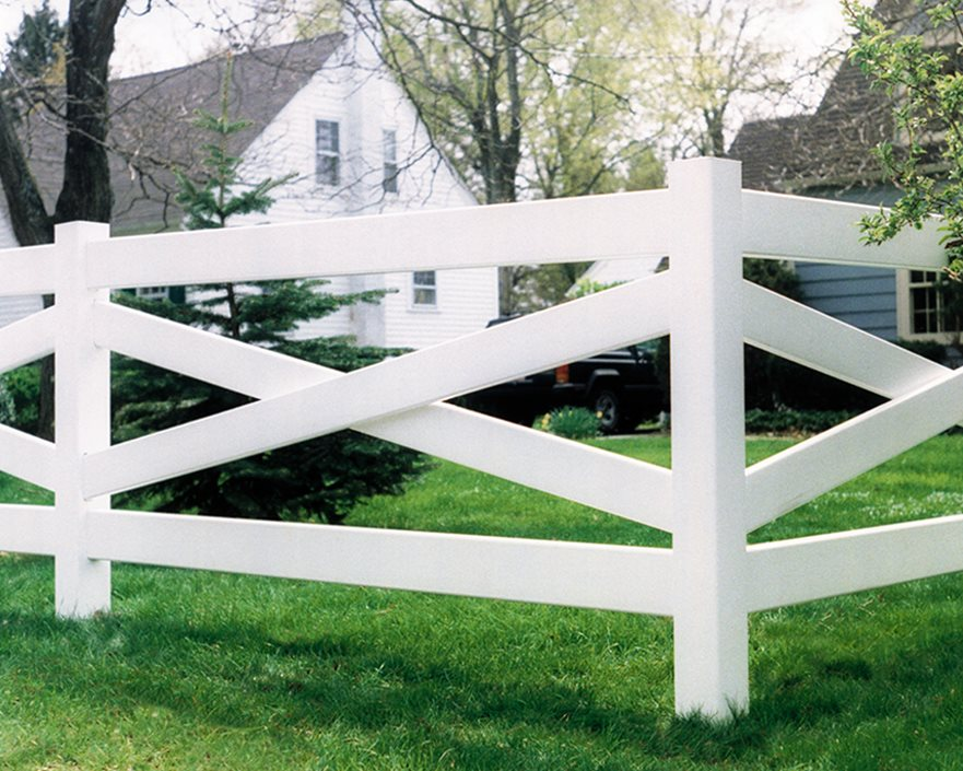Split Rail Fences - Landscaping Network