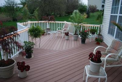 Composite decking landscaping network for Pros and cons of composite decking