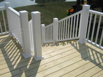 Deck cost landscaping network for Capped composite decking prices