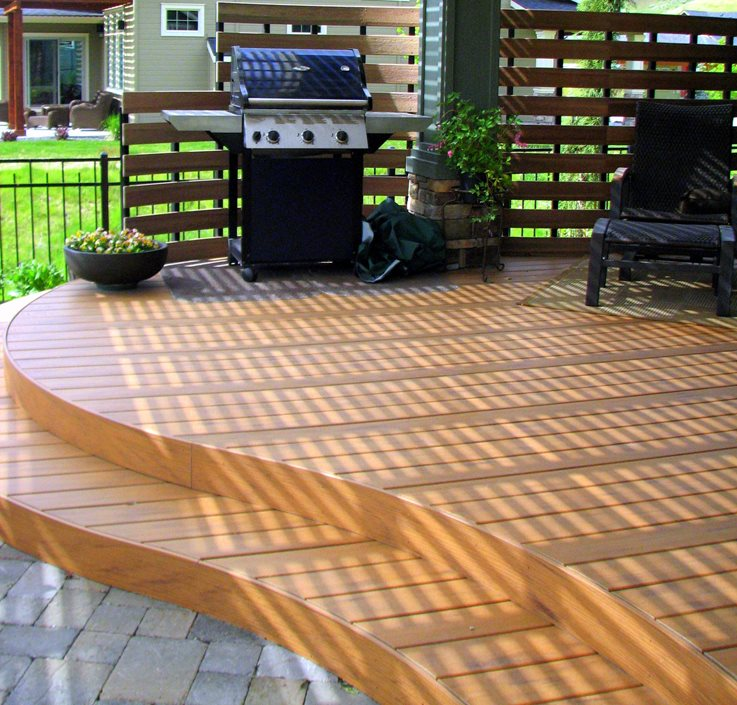 Trex Decking Colors >> Composite Decking - Landscaping Network