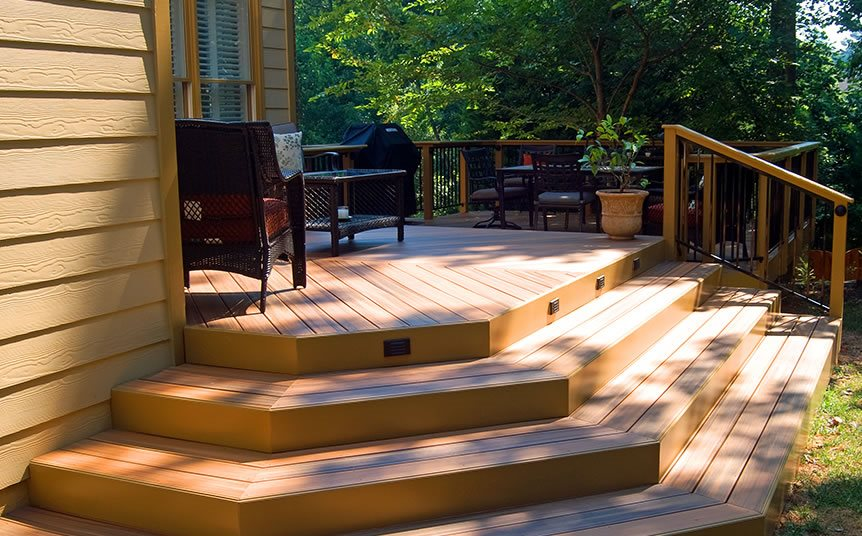 How To Build Porch Steps From Wood