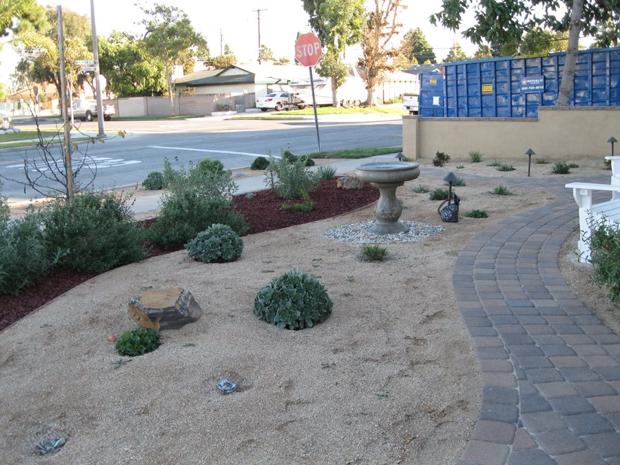 Decomposed Granite Xeriscape Creations Landscape Design Tustin Ca