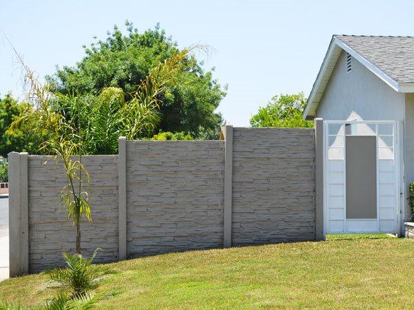 Precast Concrete Fencing - Landscaping Network
