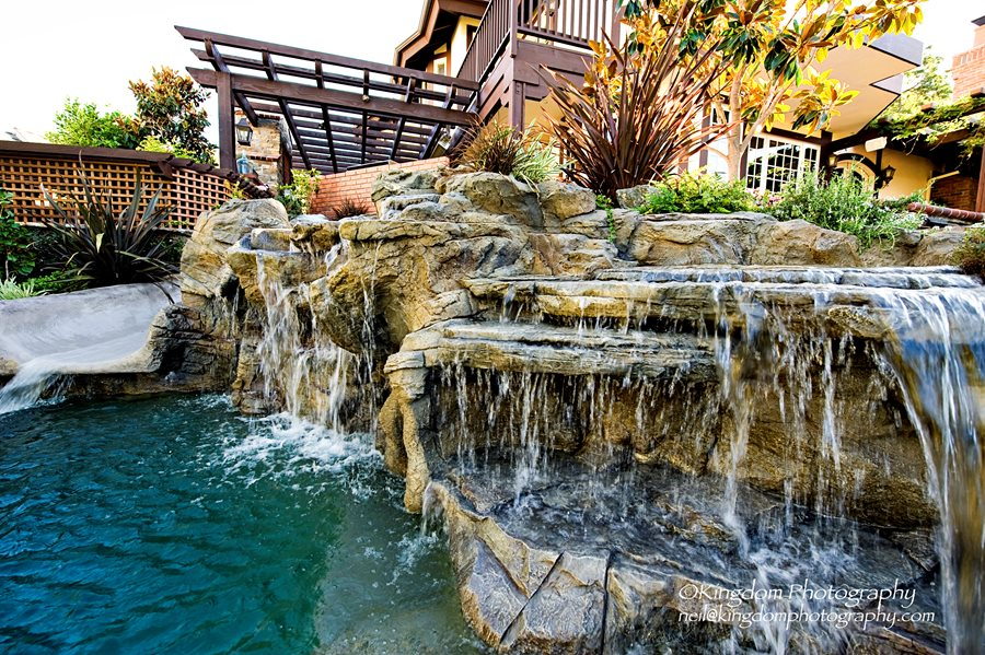 Thousand oaks backyard design landscaping network for Pool design ventura