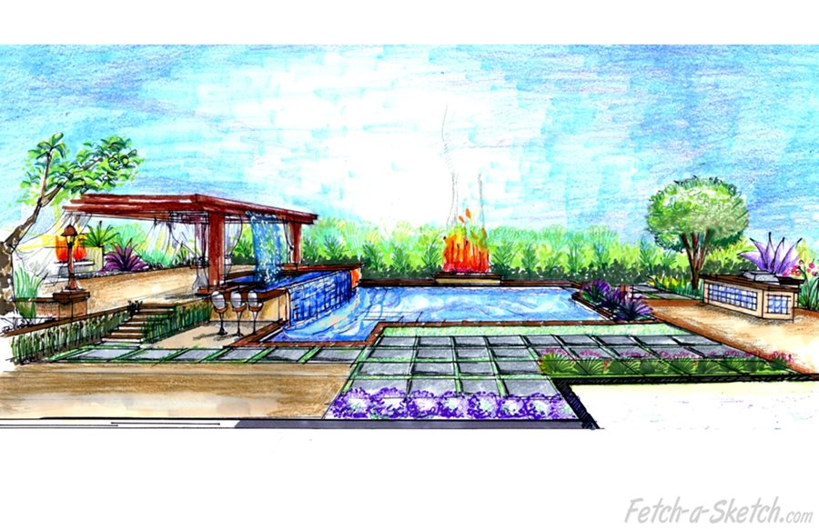 Landscaping Process For A Residential Yard Landscaping Network,Wordpress Blog Design