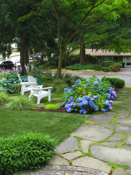 Northwestern Shade Garden - Landscaping Network on Landscaping Ideas For Wet Backyard id=15574
