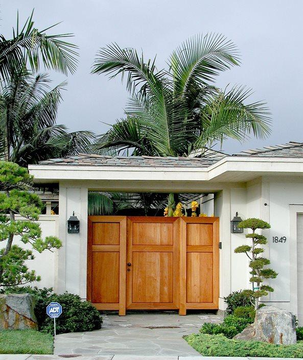 Front Yard Gate Maureen Gilmer Morongo Valley, CA