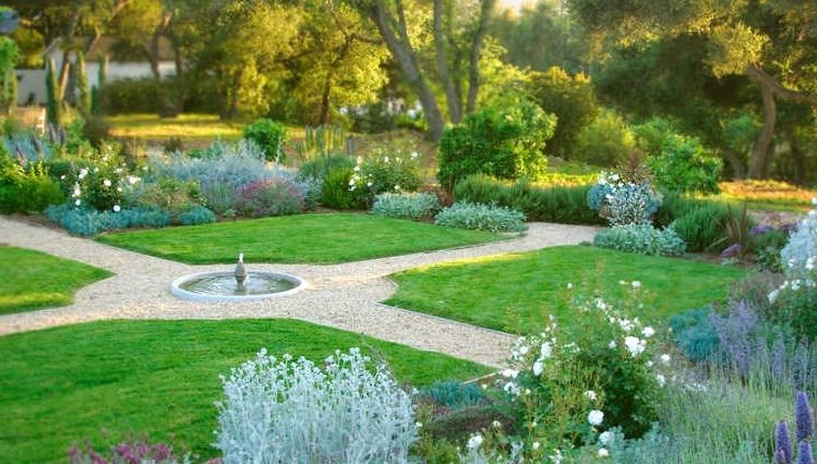 Large Garden Design Examples large yard landscaping ideas - landscaping network