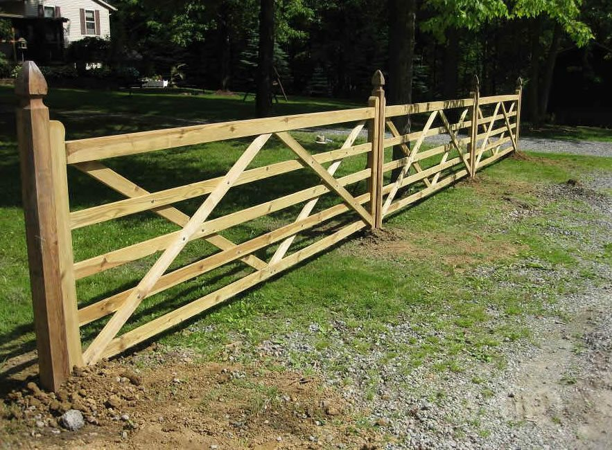 Split Rail Fences Landscaping Network