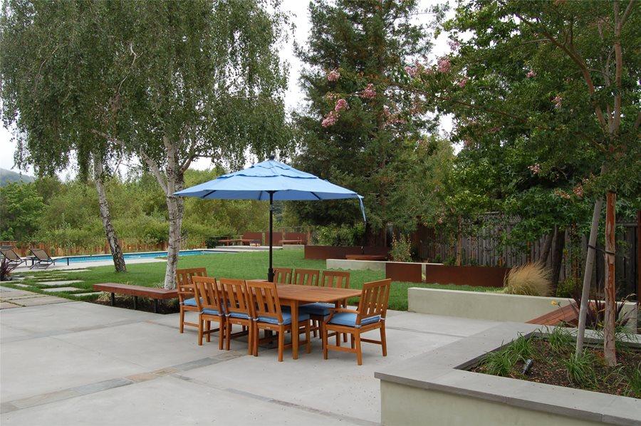 Unique Landscape Architecture Backyard Huettl Walnut Creek Ca After Inside Ideas