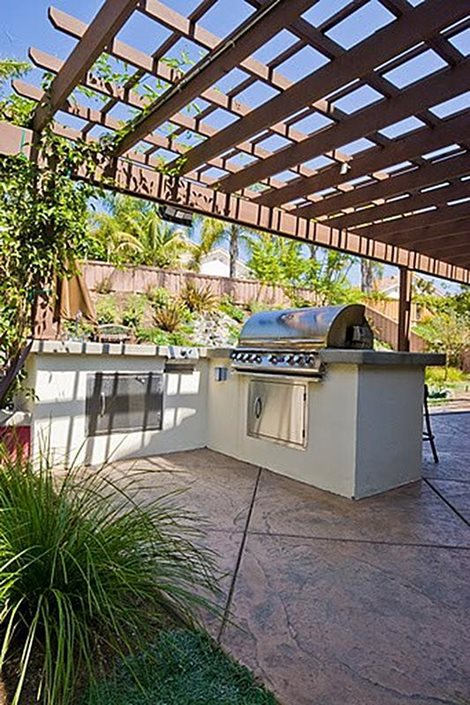 Outdoor Kitchen Location Amp Placement Landscaping Network